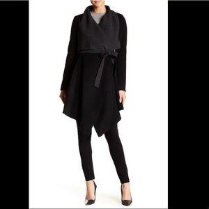 NWOT BCBGMAXAZRIA Mandi Wrap Coat Full Length